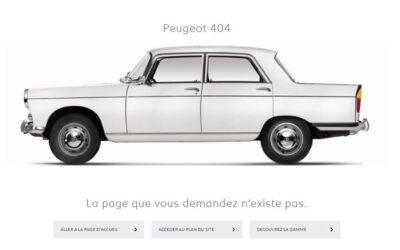 Pourquoi il ne faut pas négliger sa page 404 ?